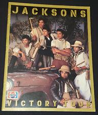 1984 - THE JACKSONS FIVE - VICTORY TOUR - MONTREAL, QC, CANADA - CONCERT PROGRAM