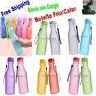 Botella de Agua Viaje, Correr, Camping Irrompible Frio/Calor Plástico 550ml BPA