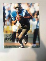 Gary Beban Autograph Signed 8x10 UCLA 67 Heisman Photo PSA/DNA