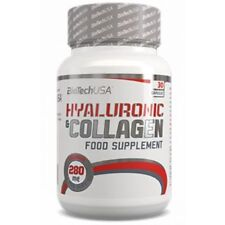 Biotech USA HYALURONIC & COLLAGEN 30/60 caps FREE WORLD SHIPPING !
