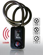 Nulock Alarmed Keyless Bluetooth Smart Bike/Motorcycle/Gate Lock Splash-proof