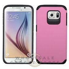 Samsung Galaxy S6 Advanced Armor Case-Pink/Black  Case Cover Shell Shield