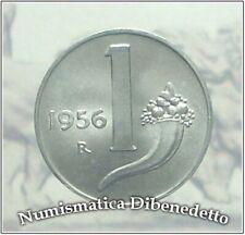 Repubblica Italiana - 1 Lire Cornucopia dal 1951 al 1959 FDC / UNC da Rotolino