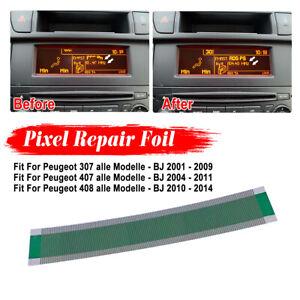 For Peugeot 307 407 408 Multi Info Display Pixel Repair Film Foil 05 Kits