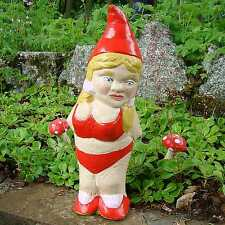 Garden Gnome ~ Hersher ~ Handmade by Pixieland (Concrete)