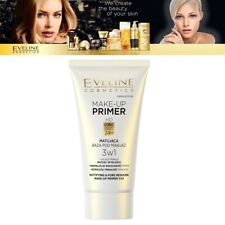 Eveline 3in 1 HD Mattifying Make Up Base Primer Face Shine Pore Reducing - 30ml