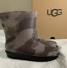 UGG RAHJEE SLATE CAMO RUBBER RAIN BOOTS 1019101T AUTHENTIC NEW SZ 12 NEW