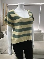Adorable Womens Roxy knitted jumper size 12 Angora Blend New Sweater Cardigan