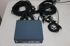 AlphaHub USB 30 PORT Docking Station Alphasmart Neo2 Hub ACC-AH02-HB W/ cables
