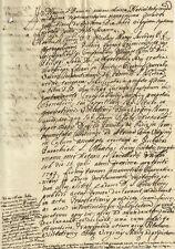 Lucca Trasferimento Titolo Visitazione Altare Vergine Parrocchia S. Matteo 1794