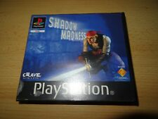 Shadow Madness-Playstation 1 PS1 ~ PAL ~ versión de alquiler PAL
