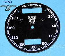 Smith Chronomètre 20-180 km/h Cadran l'Université Speedo face BSA Norton Smith Logo
