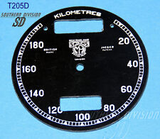 Smith Chronometer 20-180 Km/h Ziffernblatt kph speedo face BSA Norton smith logo