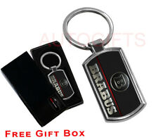BRABUS CAR KEYRING KEY CHAIN RING FOB CHROME METAL NEW