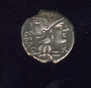 República Romaine. L. Antestius Gragulus (A 136 antes De J C) . Denario