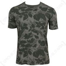 Camisetas de hombre de manga corta negro color principal gris