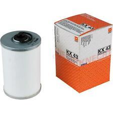 Original MAHLE / KNECHT Kraftstofffilter KX 43 Fuel Filter