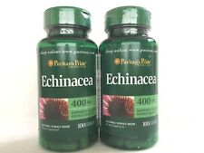 2 Puritan's Pride Echinacea 400 mg **Support Immune System Health ** Made In USA