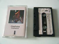 CHIEFTAINS 5 CASSETTE TAPE 1975 PINK PAPER LABEL ISLAND UK