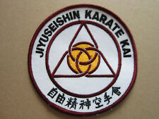 Jiyuseishin Karate Kai Martial Arts Sport Cloth Patch Badge (L2K)