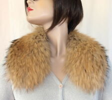 Scarf fuchs Collar Bubi Fur Fox Collar Seefuchs Natural Gold Brown