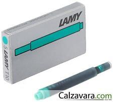 Cartucce LAMY T10 per Penna Stilografica - 5pz. Verde