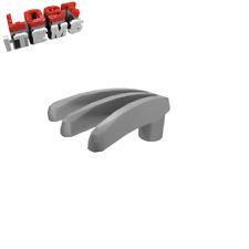 4 x [neu] LEGO Messerklaue gespreizt - matt silber - 10187