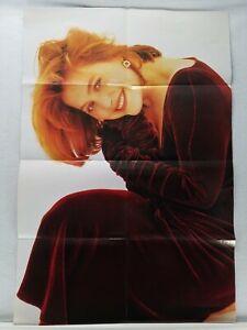 """Rare HTF Gillian Anderson - Dana Scully - X Files Poster 31"""" x 21"""" - Stargate Op"""