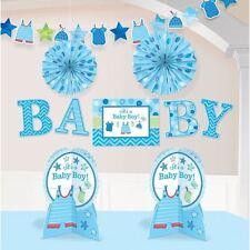 Con amore BOY DECORAZIONE PER SOGGIORNO Kit Blu Baby Shower Festa