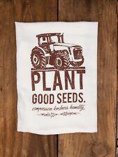 Tea Towel | Plant Good Seeds | Harvest | Home Decor | Dish Towel