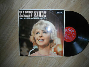 KATHY KIRBY SINGS 16 HITS FROM STARS & GARTERS RARE 1st MONO 1963 EXC