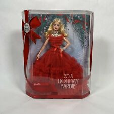 2018 Holiday Barbie Blonde 30th Anniversary NEW
