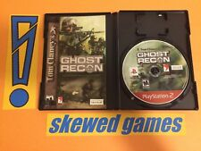 Ghost Recon - Tom Clancys Greatest Hits Mint 1 - PS2 PlayStation 2 Sony COMPLETE