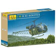 Heller SE 313 Alouette II modello KIT 1:48 NUOVO conf. orig. Punta ELICOTTERO