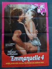 EMMANUELLE 4 - Filmplakat A1 - Sylvia Kristel, Mia Nygren - SEX EROTIK