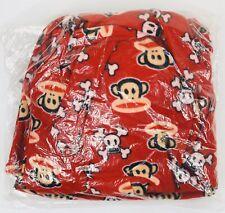 Paul Frank Toddler (Boys Girls) 3T Red Sleeping Robe monkey & skull Hoodie Ears