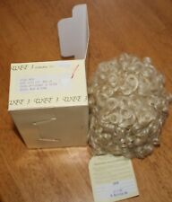 """Wee 3 Collection Doll Wig Pale Blonde #90/27B - 10-11.5"""" Size """"Erin"""" New in Pkg"""