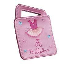 Girls Pink Satin Ballet Small Mirror Christmas Stocking Gift By Katz MR-7581