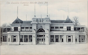 The Louisiana Exhibition 1904 St. Louis MO Unused Postcard G33