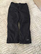 COLUMBIA Men's Black Ski Pants w/Omnitec Snow Winter Sports Size MEDIUM preowned