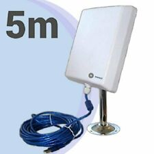 Wonect N4000A Antena Exterior WiFi USB 5 metros largo alcance cable 5m wireless