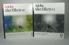 NEW Adobe After Effects 5.0 User Guide 2001 Unused Factory Sealed Plastic