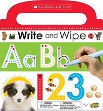 Write and Wipe ABC 123 (Hardback or Cased Book)