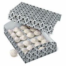 Black and White Damask Cupcake Carrier from Wilton #2916 - NEW