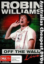 Robin Williams - Off The Wall DVD NEW, FREE POSTAGE WITHIN AUSTRALIA REGION ALL