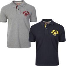 Nouveau Homme Tokyo Laundry Tiger Bay à manches courtes en piqué Logo Polo Shirt Taille S-XL