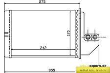 Wärmetauscher Heizungskühler Innenraumheizung BMW 3 (E36) 318 i