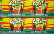 24 Pack Cactus Cooler Orange Pineapple Blast 12oz Soda Pop Pepsi Brand oz Can