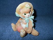 1992 Enesco Calico Kittens I'M All Fur You Cat Figurine By Priscilla Hillman
