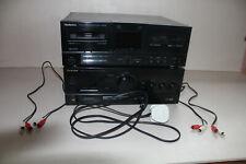 Technics SU-X102 + RS-X102 Tape Deck Amplifier Cassette Separates